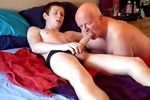 grandpa fuck boy and cum