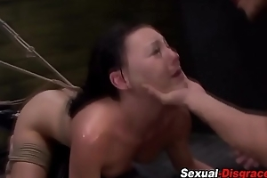 S&m fetish slut gagged