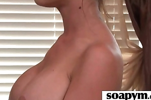 Hot Babe Soapy Shower Time 2