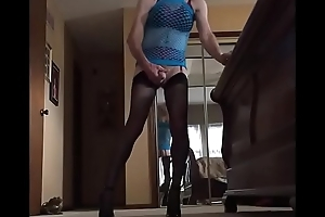Sissyboy Goes Ass2Mouth