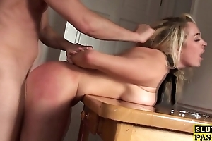 Directed up blonde surprise