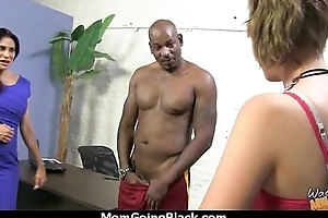Watching a sexy milf going interracial 27