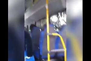 Jerk and cum in Possibly man bus
