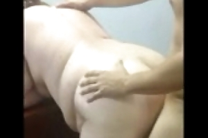 Cuckold films his BBW wife with her beau shafting