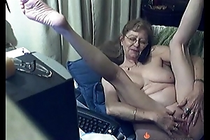 Lovely Granny with Glasses Free Livecam Porn Flick HOTLIVECAMS.XYZ