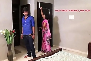 indian beautiful teacher heady to her partisan for romance.......telugu hot shortfilm