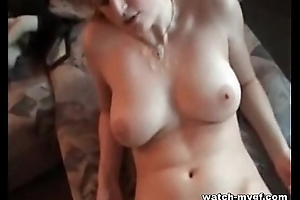 German Blonde Girlfriend Amateur Mating Peel