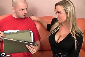 Horny Blonde MILF Is Desperate For A Hookup!