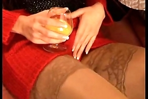 Blonde in boots anal fuck