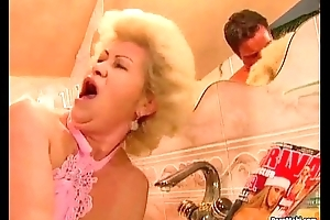 Granny Effie takes enduring pounding
