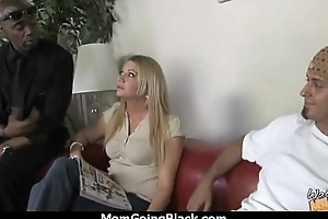 White horny mom in interracial hard sex 4