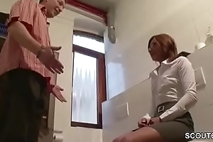 German HOT MILF thither Lingerie get Hard Fuck overwrought Exotic