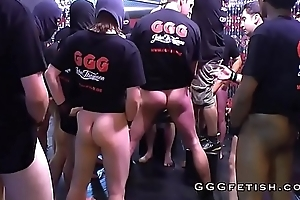 Anal and gangbang sex superior to before sexy cosset